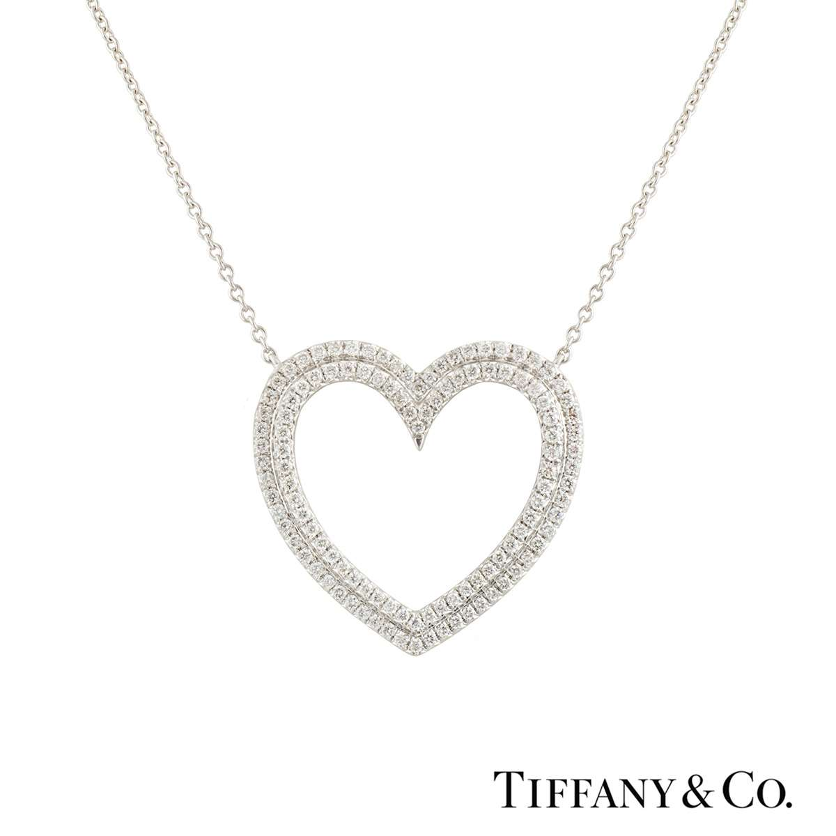 Tiffany & Co. Metro Heart Pendant